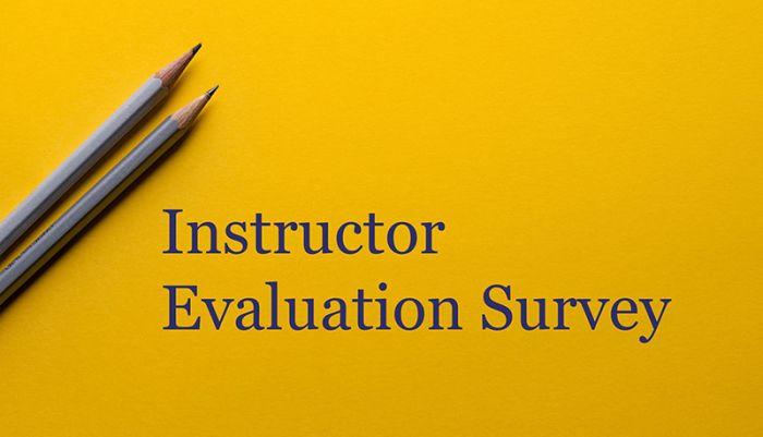 Instructor Evaluation Survey