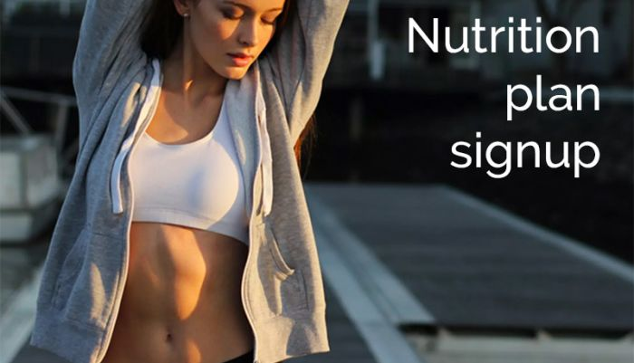 Program Signup Nutrition