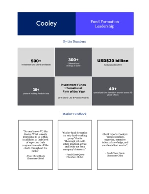 Cooley Fund Formation Leadership