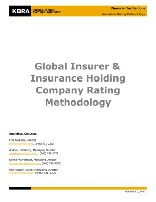 Global Insurer & Insurance Holding Company Rating Methodology