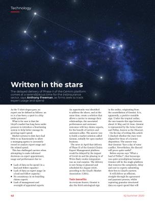DOCOsoft | Written in the stars