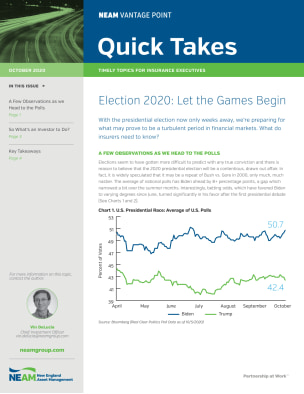Election 2020: Let the Games Begin