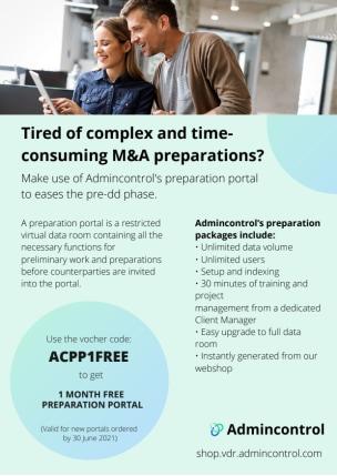 Admincontrol PreDD Flyer