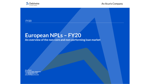 Download: Debtwire European NPLs Report FY 20