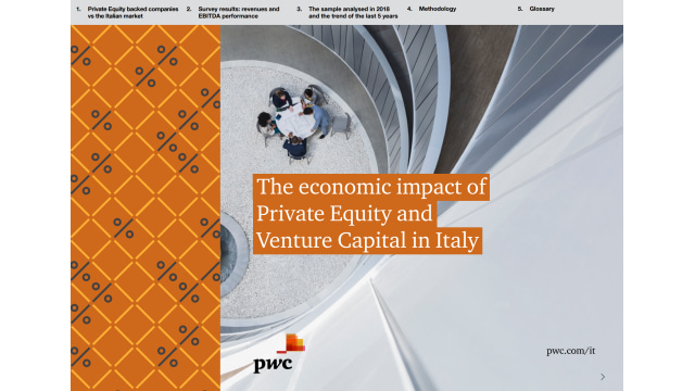 The economic impact of Private Equity and Venture Capital in Italy
