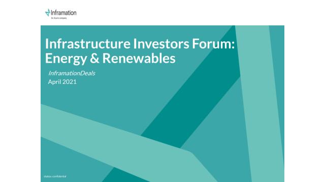 IIF Energy & Renewables Data Pack 2021