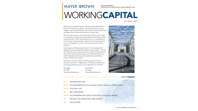 Working Capital Q1