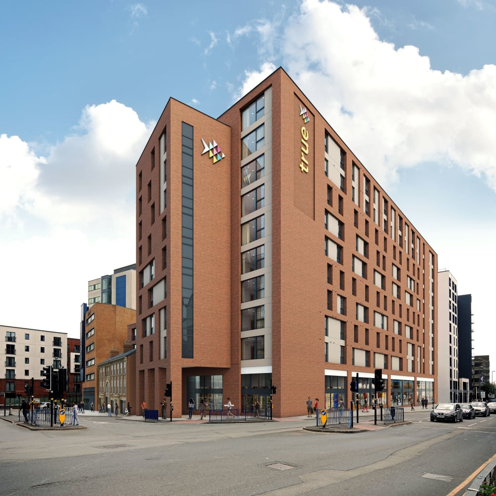 Student accommodation in Birmingham city centre