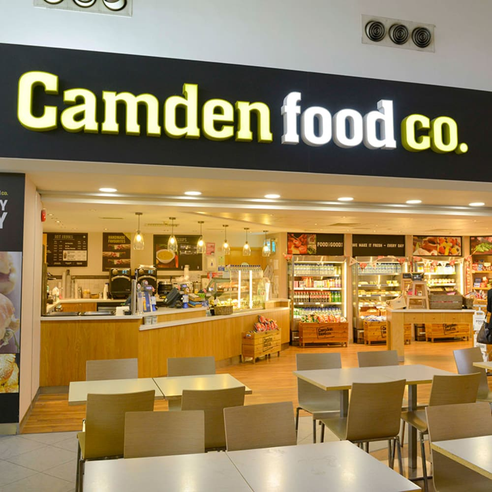 Camden Food Co Leeds Bradford Airport