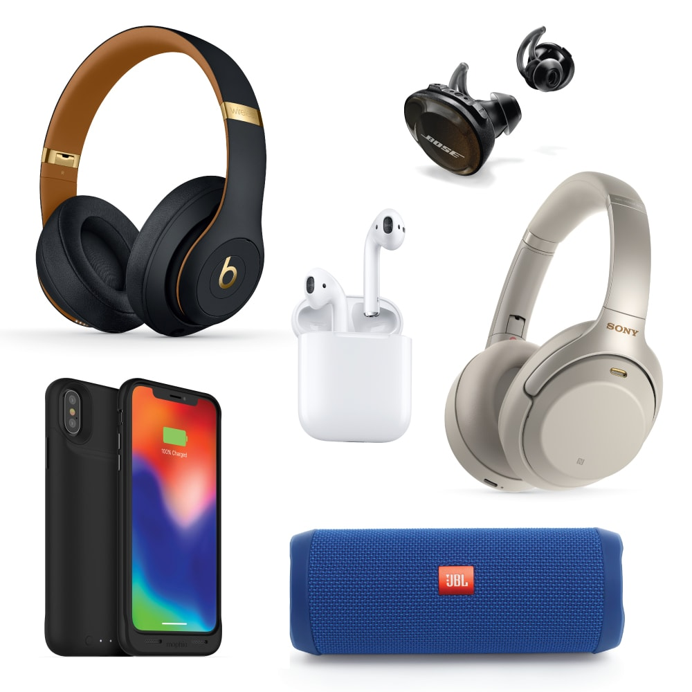 InMotion electronics for travel