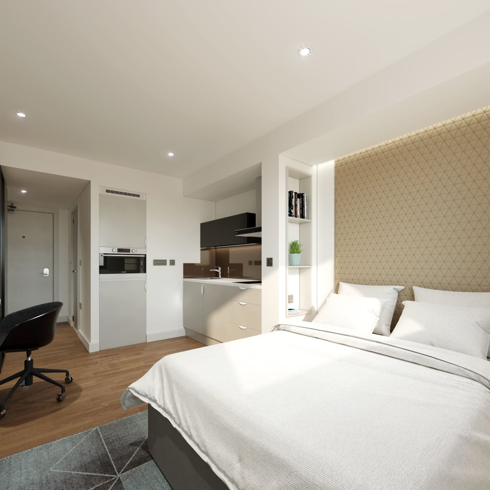 Private student flats in Birmingham from true Student