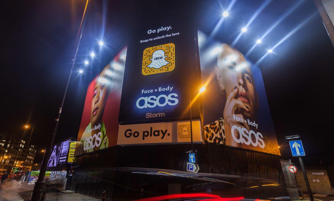 Asos and Snapchat Go Play