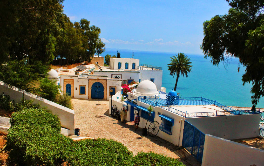 Tunisia, sea view