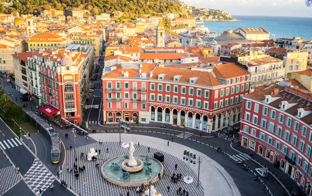 Nice centre, France