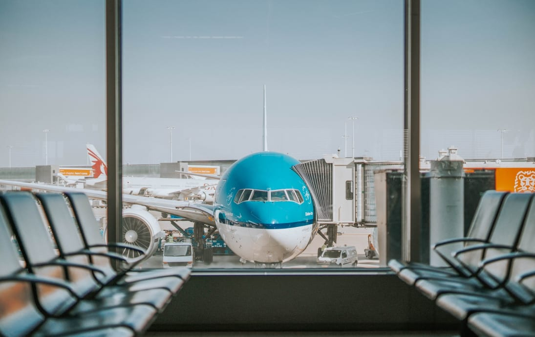 KLM connections at Amsterdam Schiphol