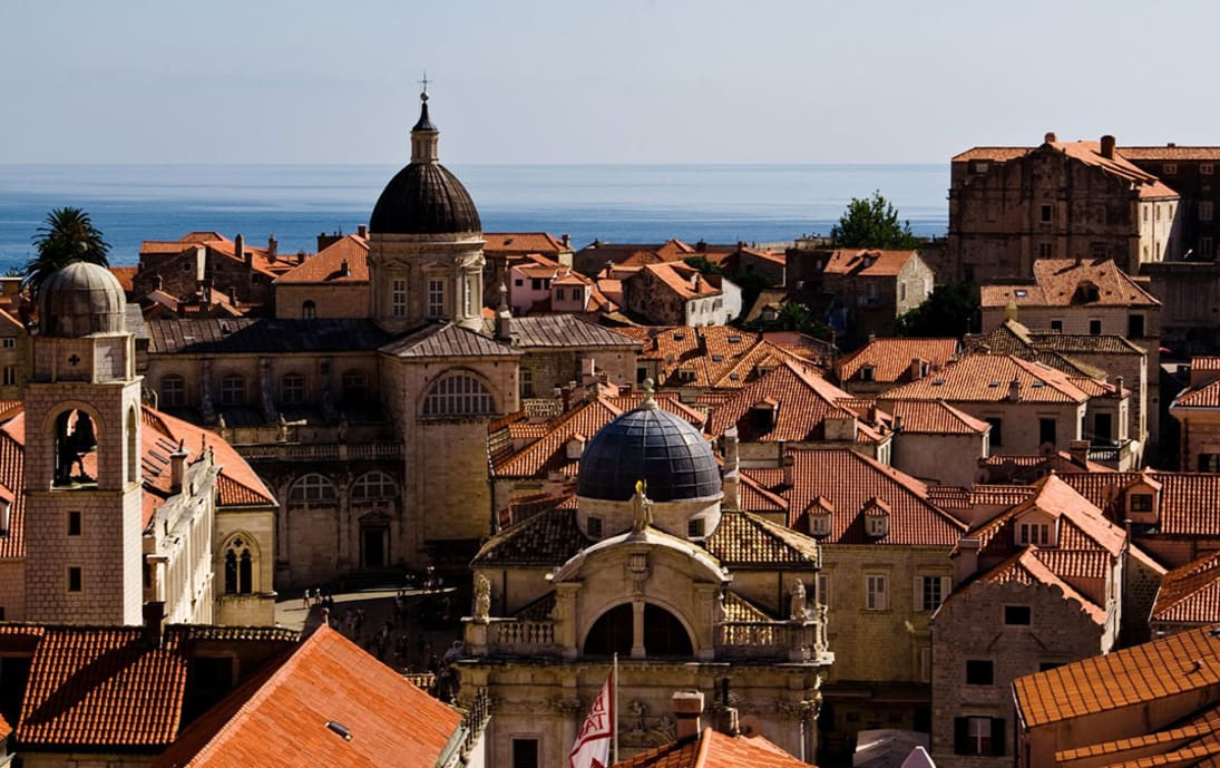 Dubrovnik as seen as King's Landing in Game of Thrones