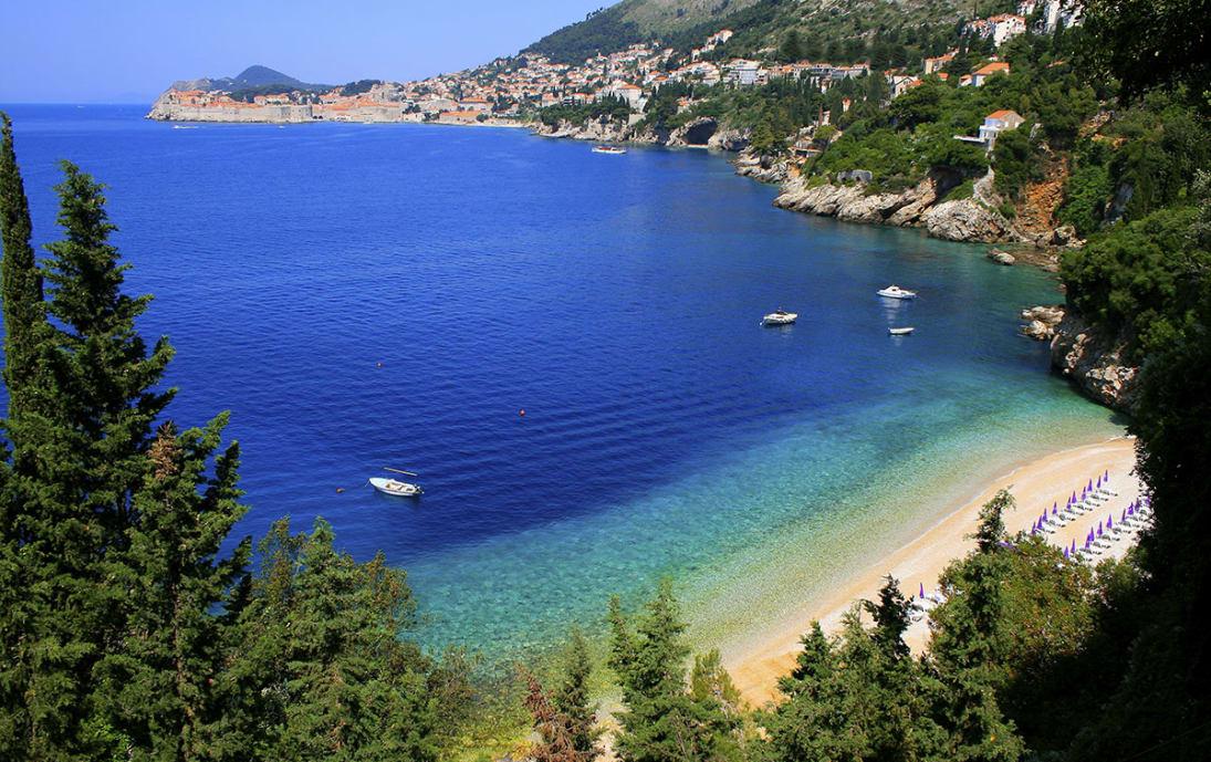 Beachside in Dubrovnik