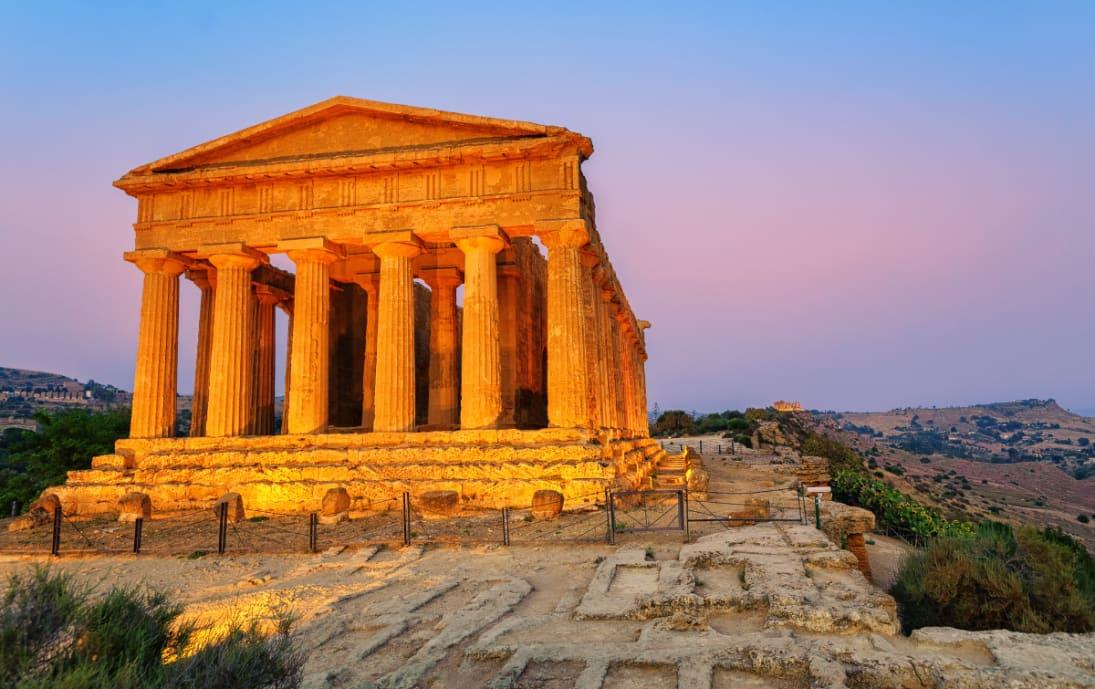 Temple of Concordia, Agrigento, Sicily