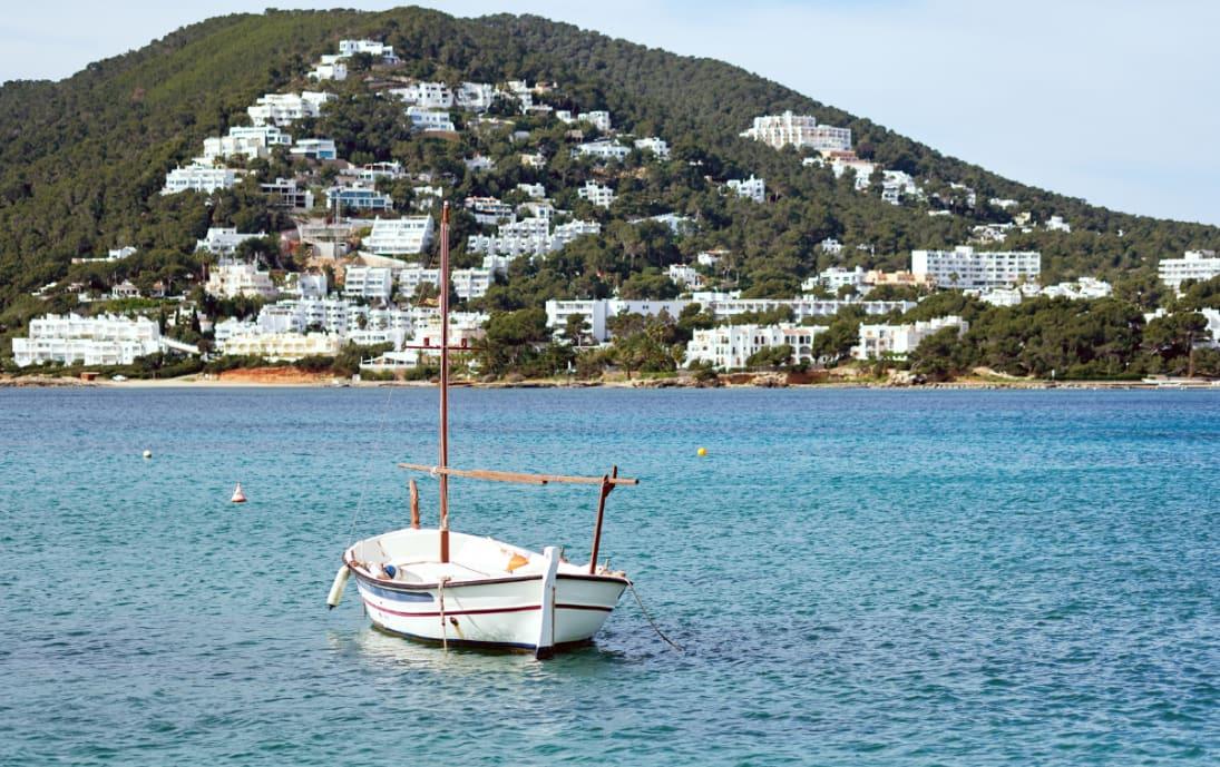 Santa Eulalia harbour