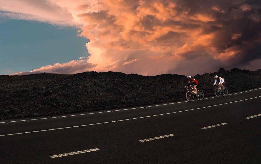 Cycling Timanfaya National Park