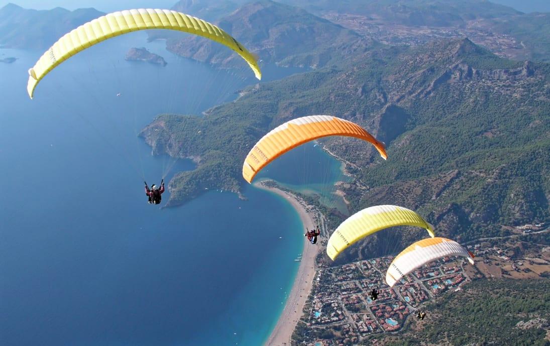 Paragliding over Ölüdeniz