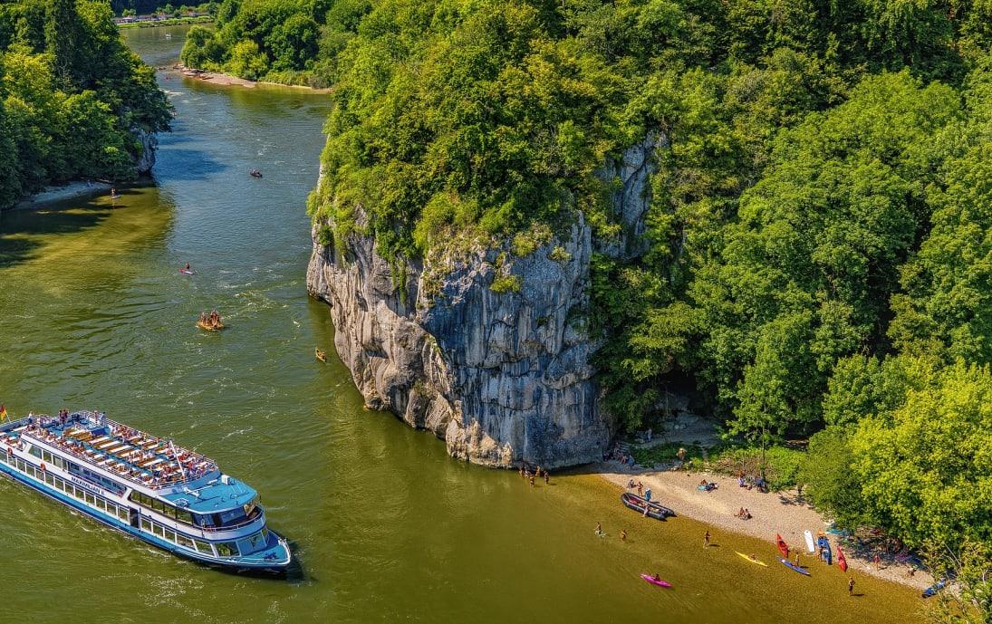 Sunny Bavarian Danube