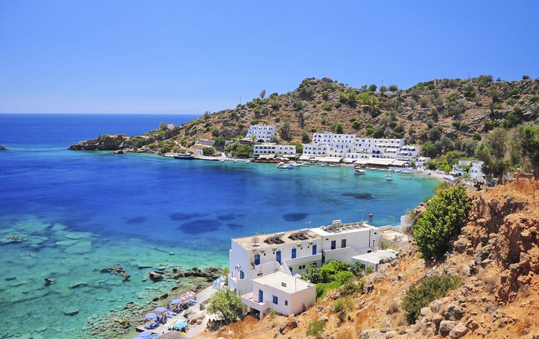 Shoreside in Crete