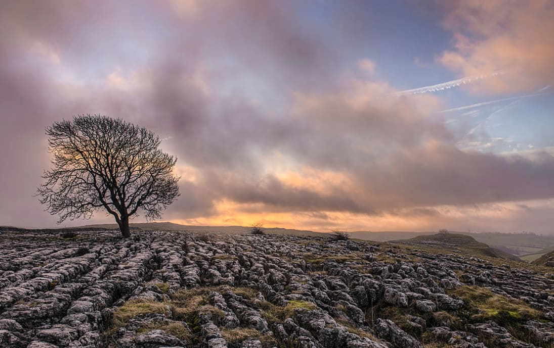 The top of Malham Cove