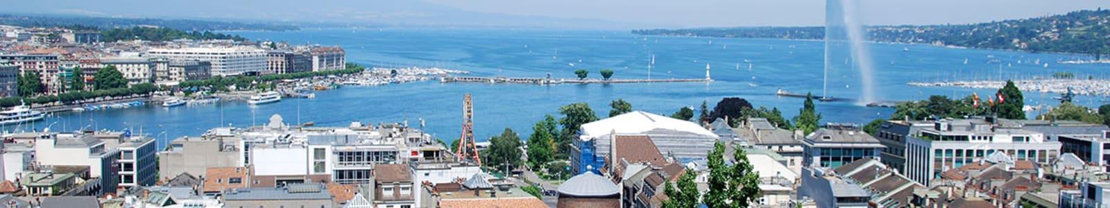 Geneva city view