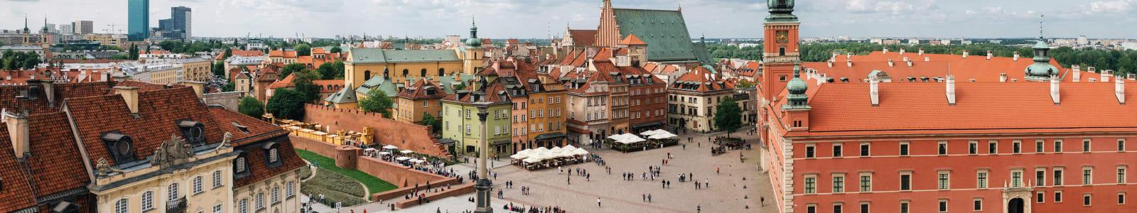 Polish town square