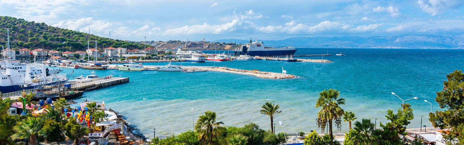 Izmir harbour