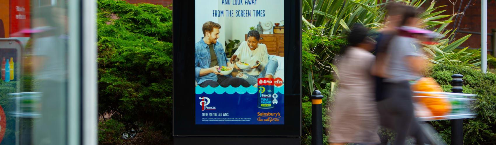 Sainsbury's digital 6-sheet