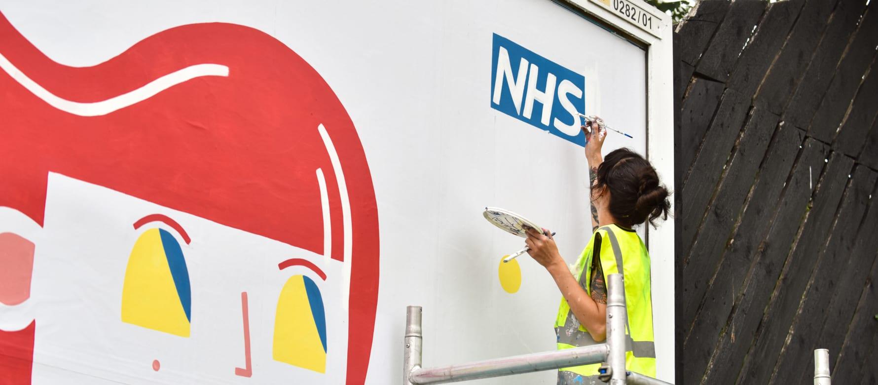 Emma Hardaker - NHS Leeds Clear Channel Billboard