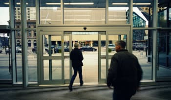 Winter Check on Automatic Doors