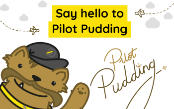 Pilot Pudding's Happy Flyers are here for little travellers