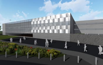 New state of the art terminal extension set for take-off
