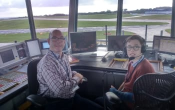 Airport Enthusiasts Go Behind the Scenes at LBA