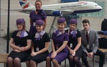 Sheffield College Students Visit BA HQ