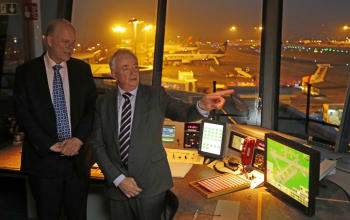 Secretary of State for Transport visits LBA