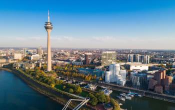 Flybe Celebrates Inaugural Dusseldorf Flight