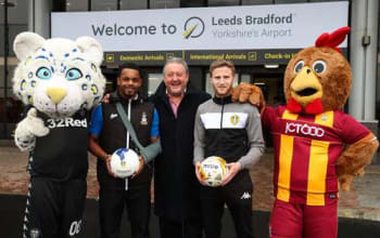 Our charity partnership with Leeds United's and Bradford City FC's Foundations