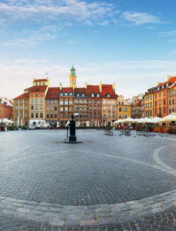 Warsaw's main square