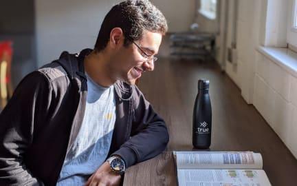 True student reusable water bottle