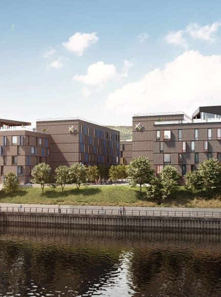 Student Accommodation Swansea on the River Tawe