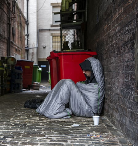 The vicious cycle of homelessness