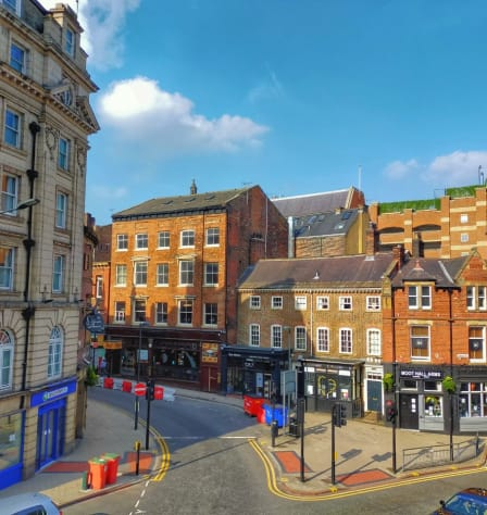 A street in Leeds