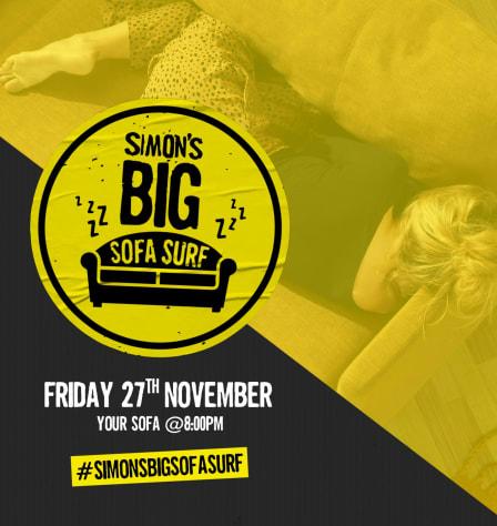 Simon's Big Sofa Surf logo