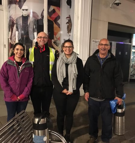 Our volunteers - what they're doing for Simon on the Streets