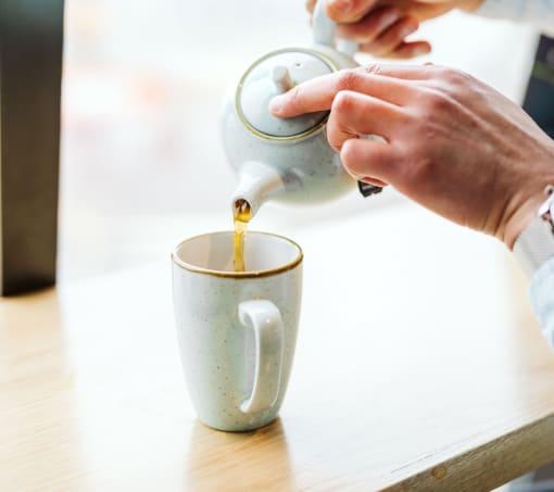 A pot of tea in Cabin Bar