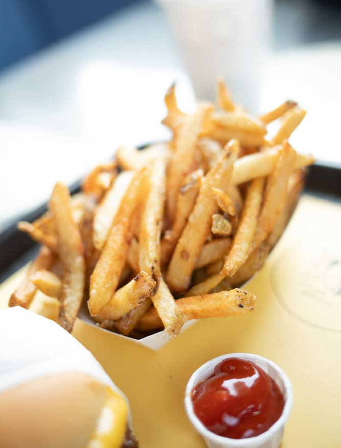Cone of frites